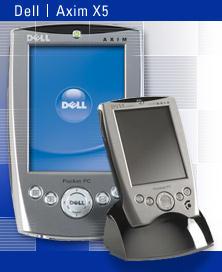 Axim X5: новый КПК Dell
