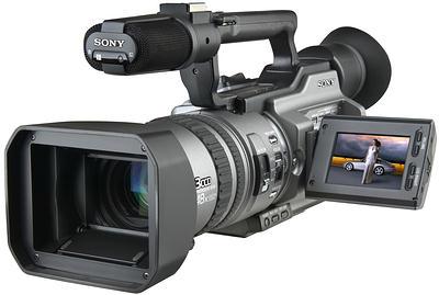 Цифровая видеокамера Sony DCR-VX2100E.  Описание, отзывы, цены в Украине.