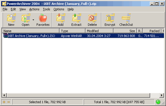 powerarchiver 2004
