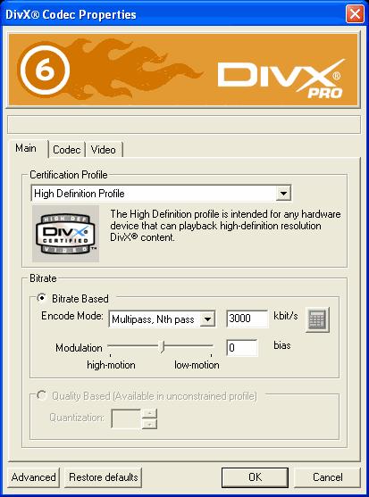 кодеки divx скачать бесплатно - фото 9