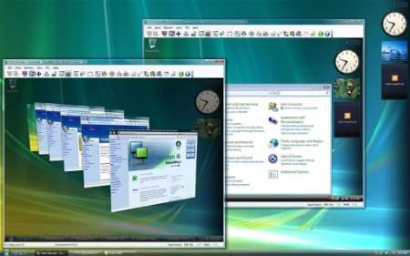 Скриншот работы DameWare NT Utilities