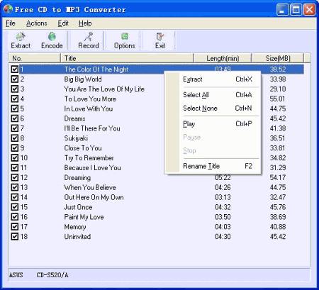 программа для записи мр3 музыки