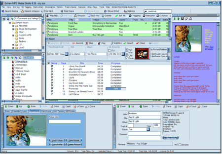 Скриншот Zortam Mp3 Media Studio