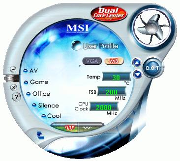 MSI Dual CoreCenter Driver for Windows Mac