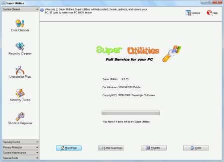 Скриншот Super Utilities