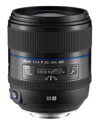 Объектив Samsung 85mm f/1.4 ED SSA
