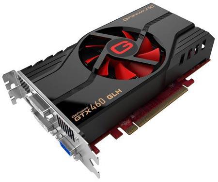 Gainward разработала разогнанную видеокарту GeForce GTX 460 с 2 ГБ памяти.