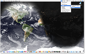 Earthdesk screenshot