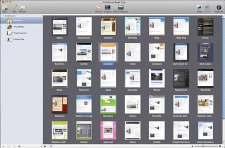 RapidWeaver для Mac OS X