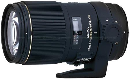 Объектив Sigma APO MACRO 150mm F2.8 EX DG OS HSM оснащен стабилизатором изо ...