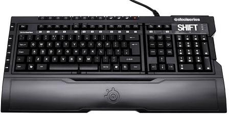 Клавиатура SteelSeries Shift имеет сменные блоки, рассчитанные на популярны ...