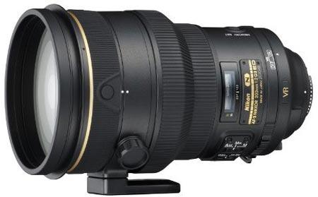 Объектив AF-S NIKKOR 200mm f/2G ED VR II предназначен для профессионалов