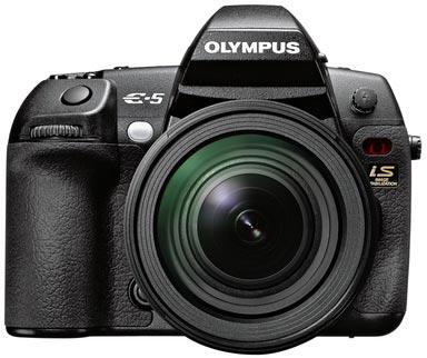 E-5 — новый флагман линейки цифровых зеркальных камер Olympus