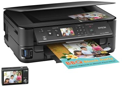 Заправка картриджей Epson NX625 - МФУ для дома Epson Stylus NX625 имеет функцию двухсторонней печати