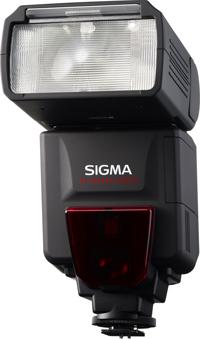 Вспышка Sigma ELECTRONIC FLASH EF-610 DG SUPER имеет функцию моделирующего  ...