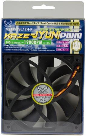 В серии вентиляторов Scythe Slip Stream 120 PWM появляется высокооборотная  ...