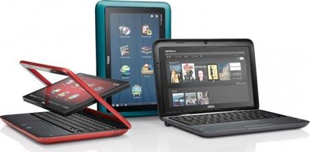 По следам IDF 2010: необычный трансформируемый нетбук Dell Inspiron Duo