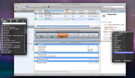 Contictizer Pro screenshot