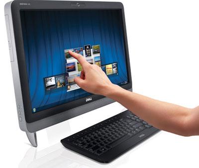 Dell анонсировала моноблочный ПК с экраном диагональю 23 дюйма