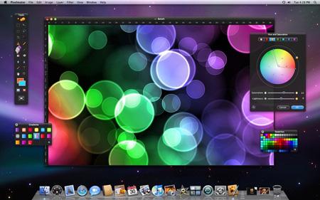 Pixelmator � ����������� �������� ��� Mac