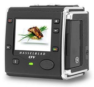Разрешение цифрового задника Hasselblad CFV-50 равно 50 Мп