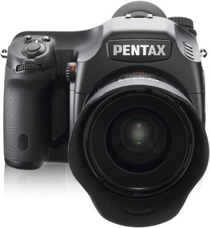 До конца года Pentax начнет продажи среднеформатной камеры 645D в Европе