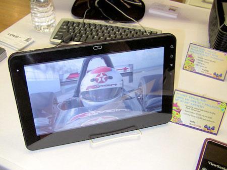 G Tablet – еще один планшетный компьютер ViewSonic