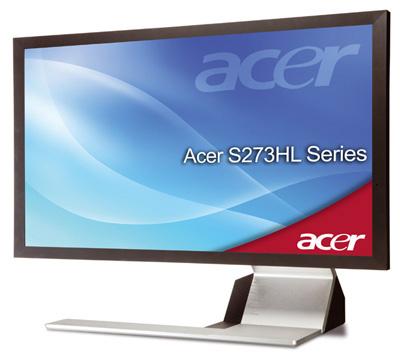 Acer S273HL — старший брат модели S243HL