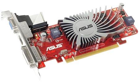 3D-����� ASUS HD 6450 ����� ������ HDMI, Dual-Link DVI � D-Sub