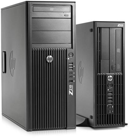 Рабочие станции HP Z210
