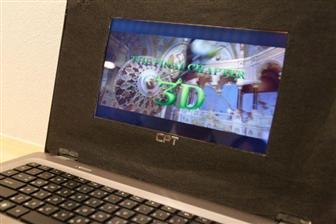 Chunghwa Picture Tubes показала стереоскопический экран диагональю 10,1 дюйма для планшетов, не требующий очков