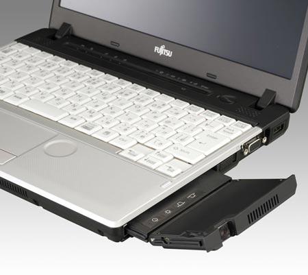 Fujitsu находит новое применение отсеку для оптического привода в ноутбуках LifeBook S761/C и P771/C