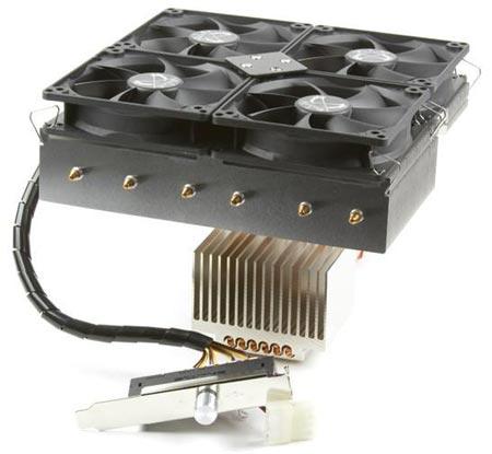 Процессорный охладитель Scythe Susanoo имеет 12 тепловых трубок