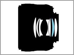 Схема объектива AF-S Nikkor 50mm f/1.8G