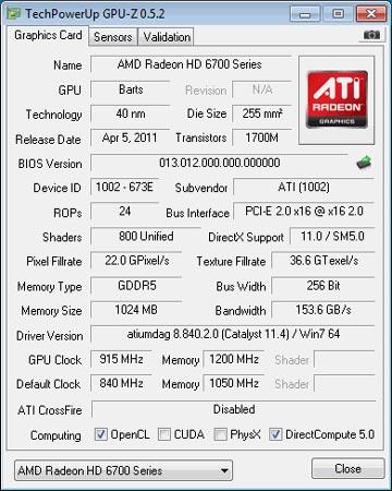 GPU-Z показывает 24 ROP