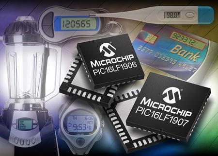 Микроконтроллеры Microchip PIC16LF190X