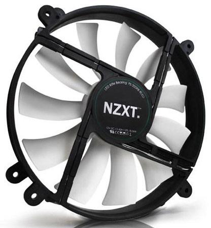 Корпусные вентиляторы NZXT FS-200 LED