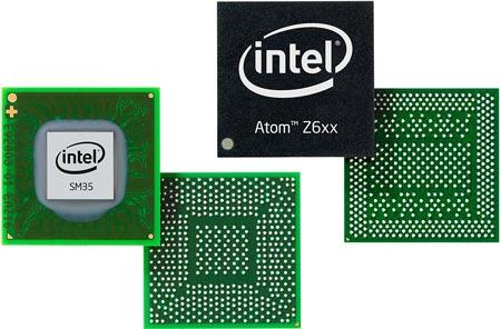 В состав платформы Oak Trail входит процессор Intel Atom Z670 и чипсет Intel SM35 Express
