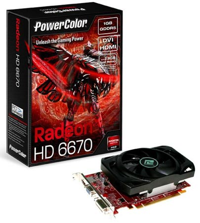 PowerColor HD6670