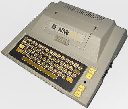 Компьютер Atari 400