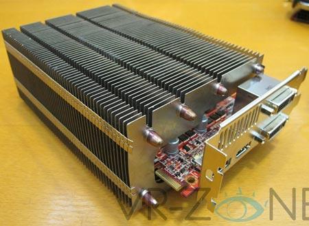 3D-карта PowerColor HD 6850 SCS3 с пассивным охлаждением