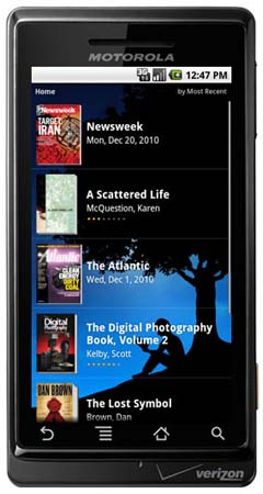 Приложение Amazon Kindle для Android
