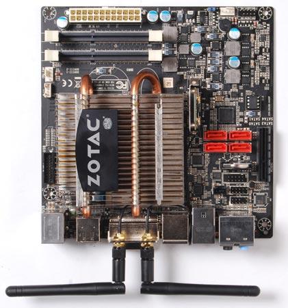 Системная плата ZOTAC FUSION-ITX WiFi серии A