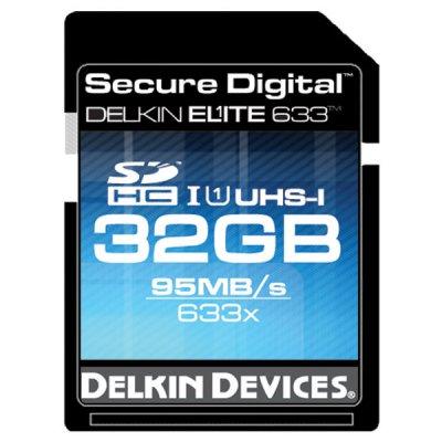 Карточка памяти SDHC Delkin Elite 633 UHS-I