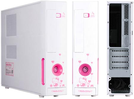корпус M11KT Micro ATX Hello Kitty Case