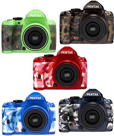Камеры Pentax K-r в камуфляже