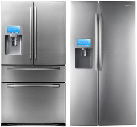 Samsung планирует выпуск холодильников с Wi-Fi