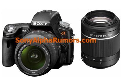 ������ ����������� ���������� ������ Sony A35