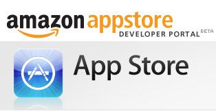 App Store — версии Apple и Amazon