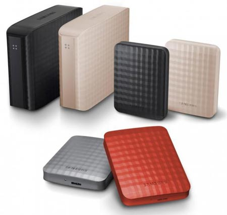 Внешние жесткие диски Samsung M3 Station, C2 и M2 Portable оснащены интерфейсом USB 3.0